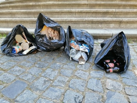 150 litros de lixo recolhidos em 91 minutos_Imediações_Bom Jesus.2405.2020 (1)