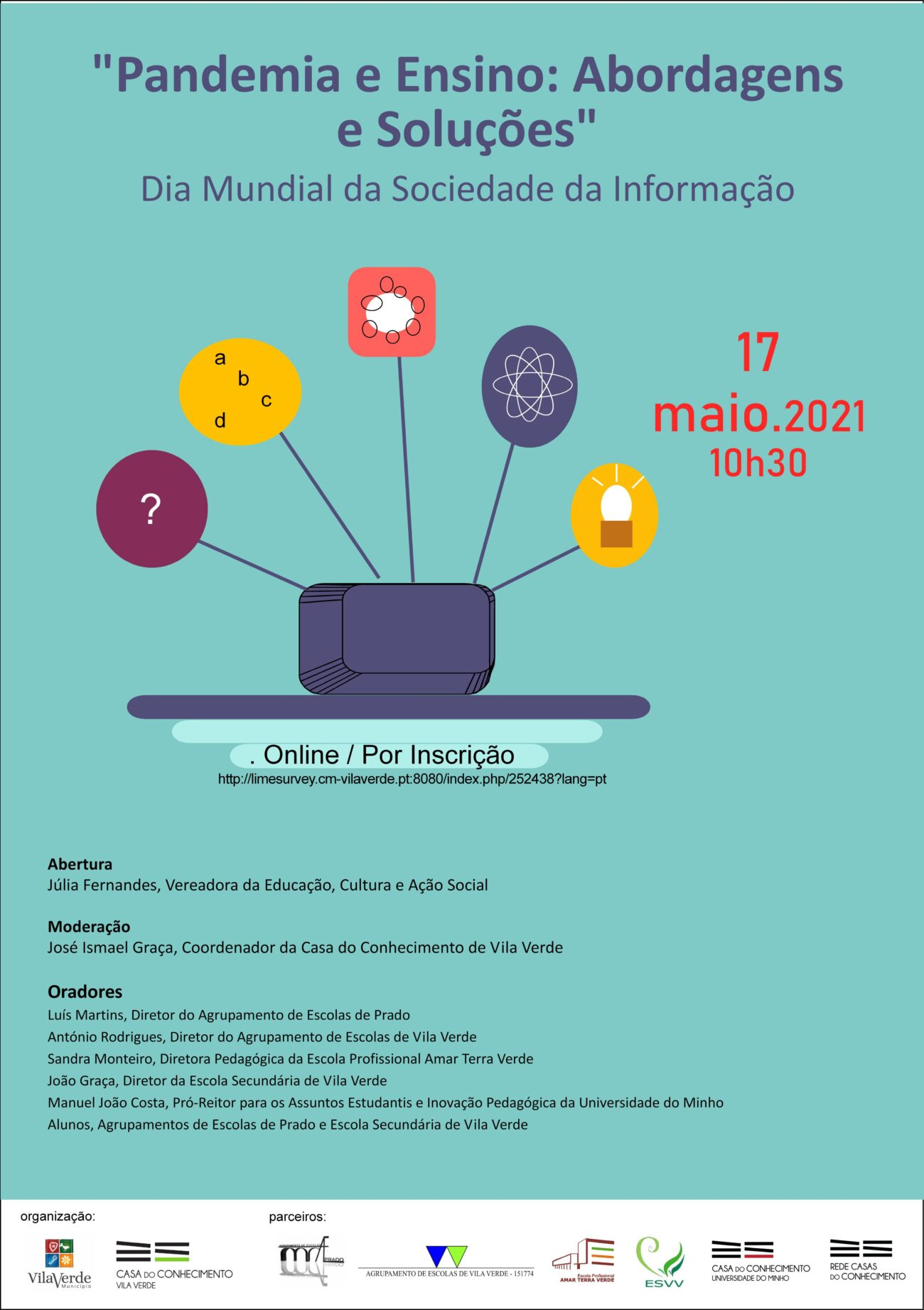 cartaz sociedade informaçao 2021