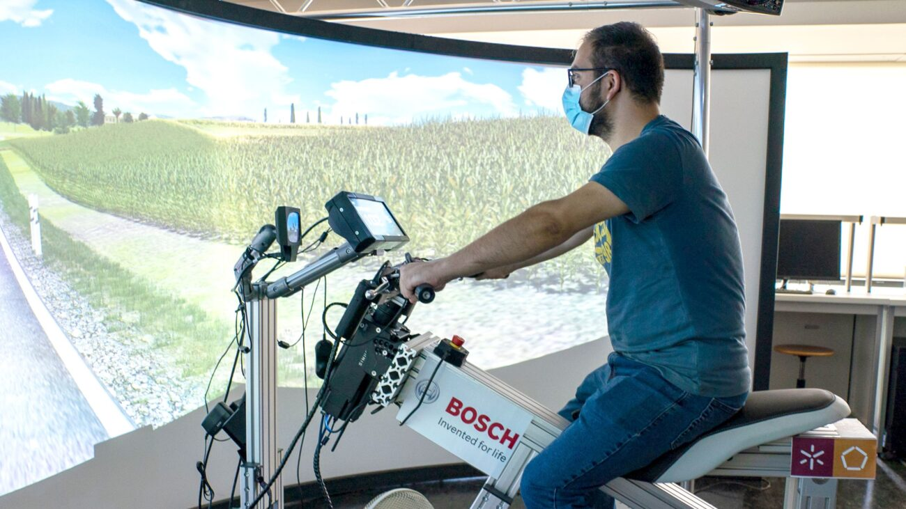 Simulador Bosch 2 wheelers
